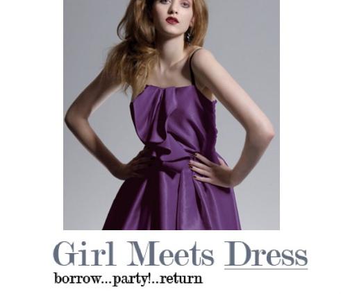 When girl meets dress