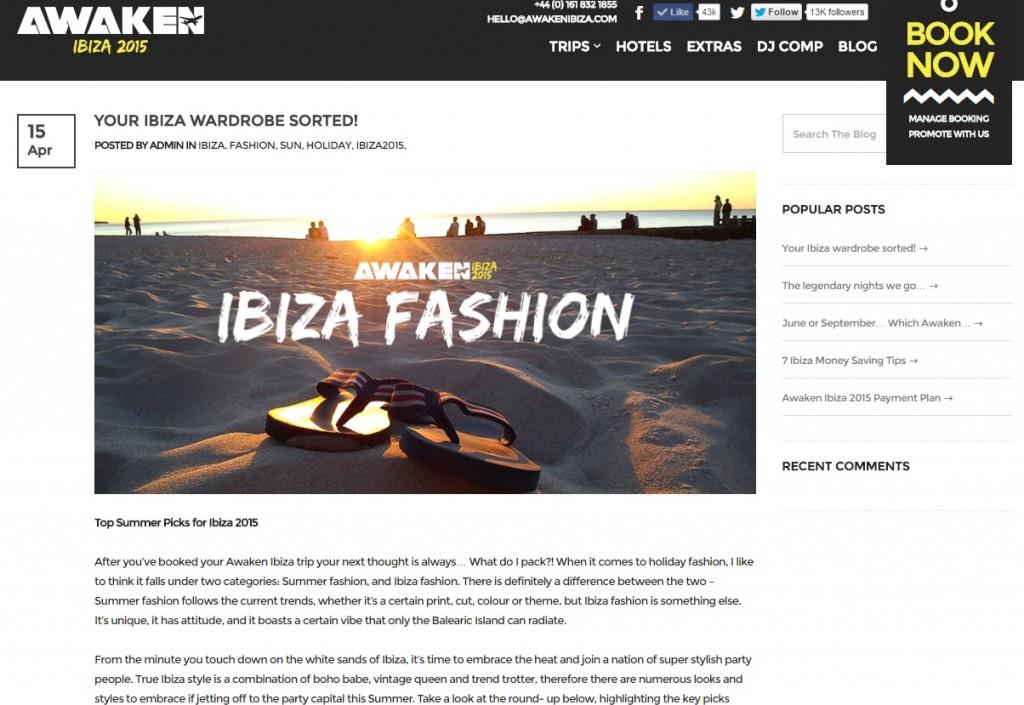 awaken ibiza blog