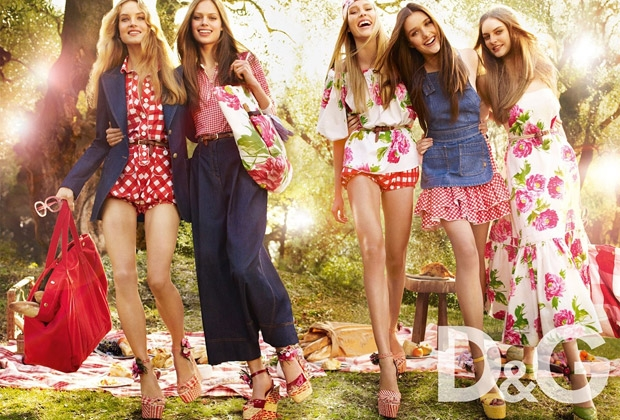Floral Fashion Trends_Dolce Gabanna SS11