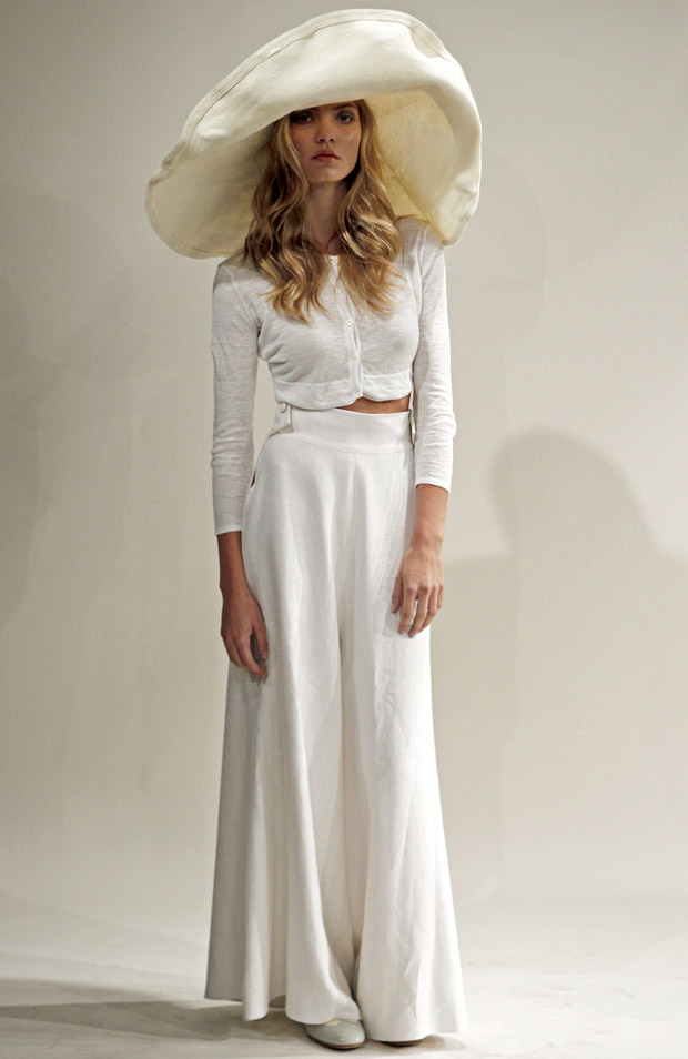 organicpalazzopants Trend: Wide Leg Trousers