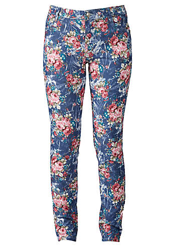 Joe Browns Fab Floral Jeans50R172FRSP Summer Style: dress to impress