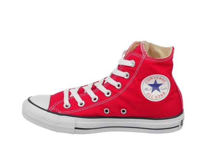 Converse are a good festival option, if the  weather is dry! All Star Hi Leisure Boots £40