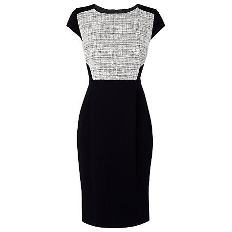 L.K. Bennett Allina Tweed Dress, White £245