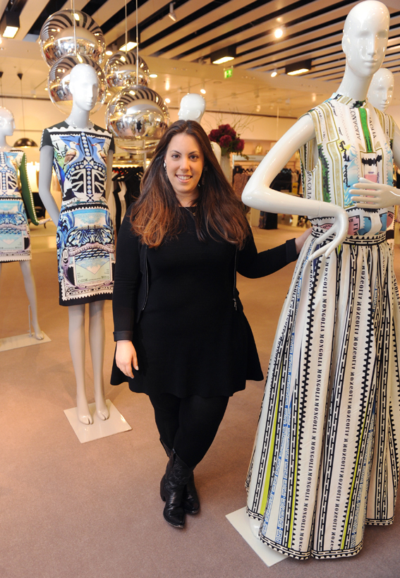 mary katrantzou c Fashion: Mary Katrantzou visits Selfridges Exchange Square