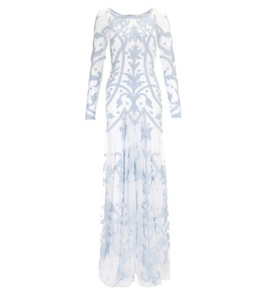 Temperley London Powder Blue Francine Dress