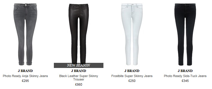 j brand Fashion: Designer Shopping at Avenue 32