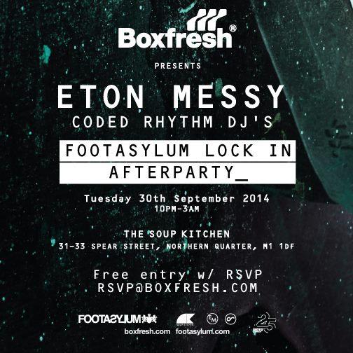 Boxfresh presents Katashi for FootAsylum invite