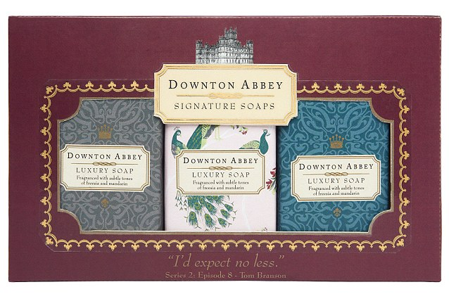 DOWNTON ABBEY SOAPS