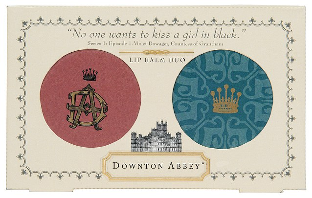 Downton Abbey Lip Balm