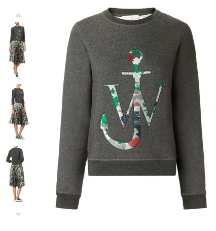 J W Anderson Logo Sweater £215