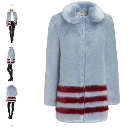 Shrimps Dulcie Faux Fur Coat £595
