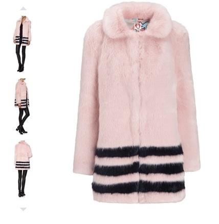 Shrimps Ducie Faux Fur Coat £595