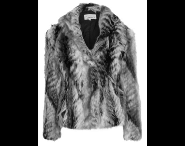 faux fur jacket 40
