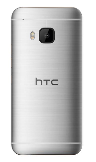 HTC M9 silver - Back