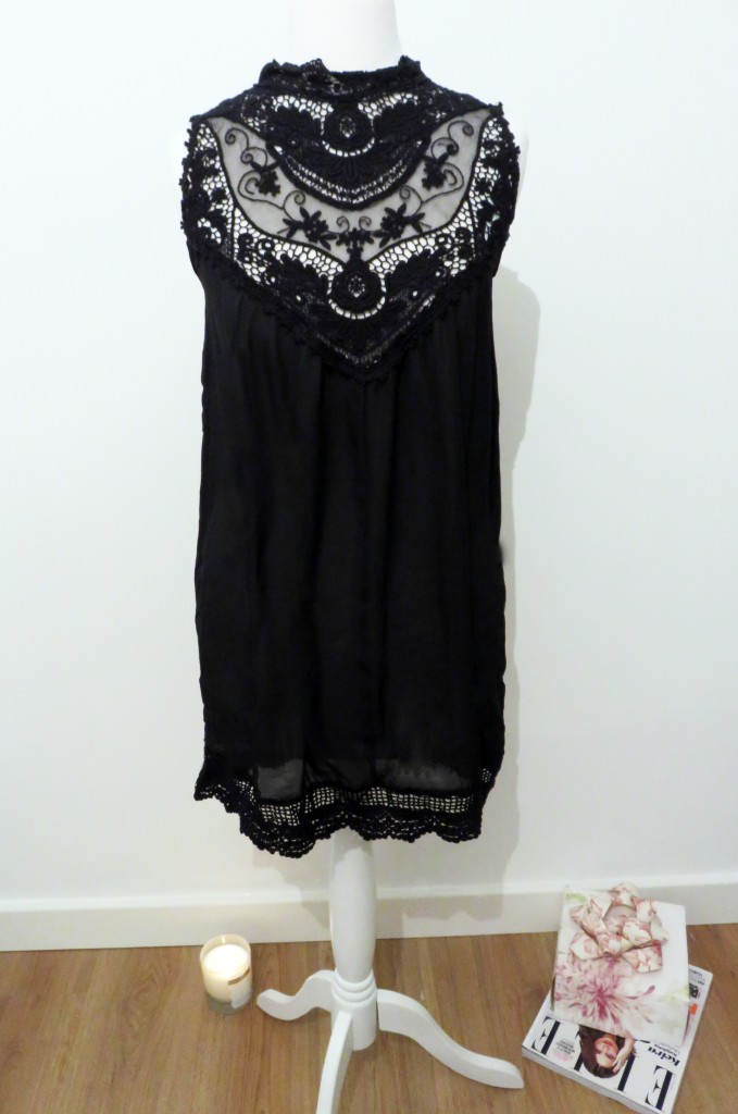 black forest lace detail tunic