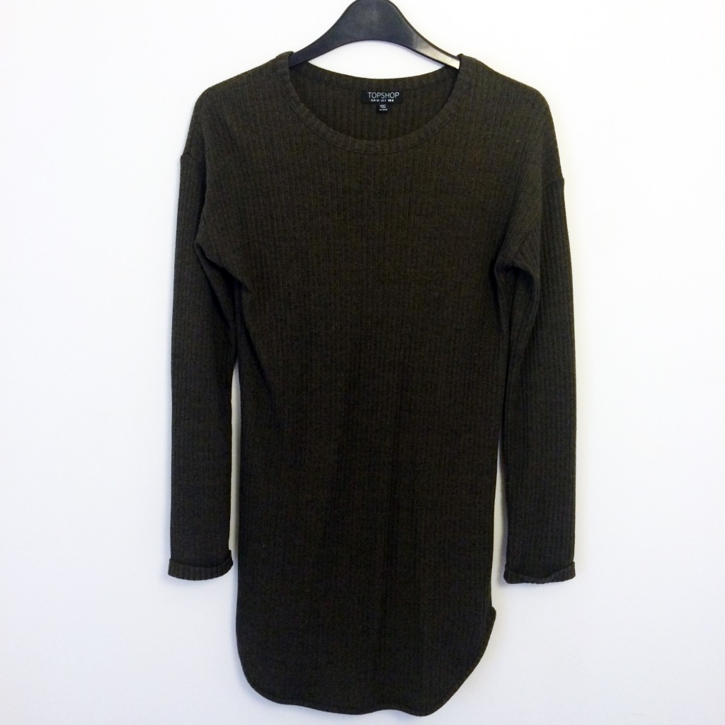 topshop jumper dress
