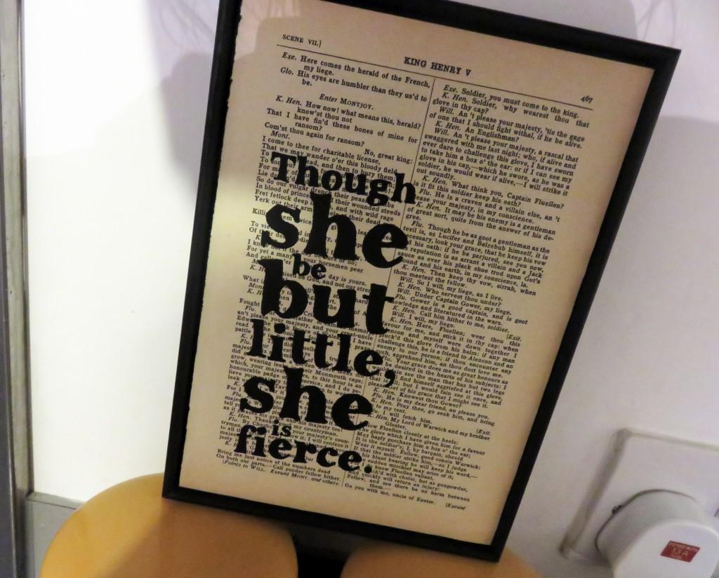 Shakespeare print