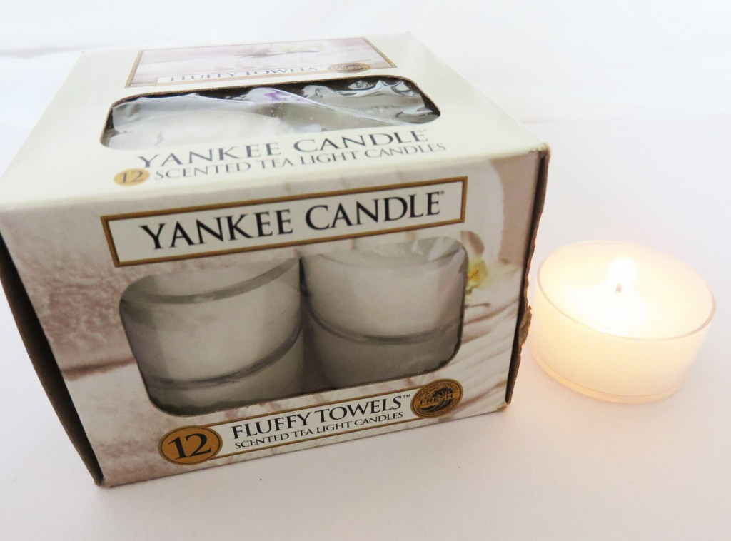 yankee candles fluffy towels