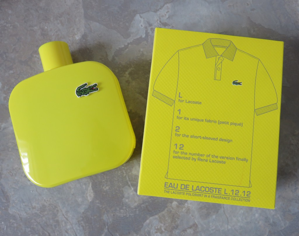 lacoste jaune aftershave