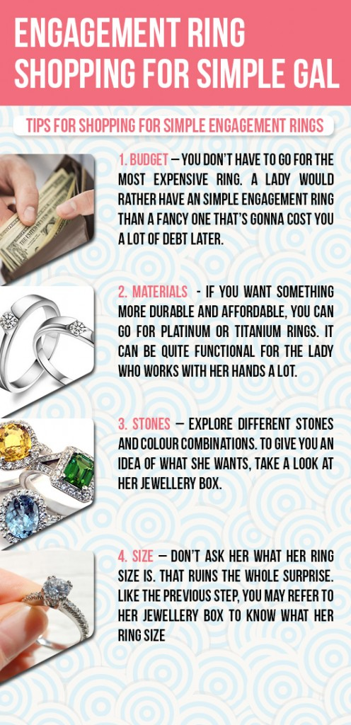 Engagement Ring Shopping For Simple Gals