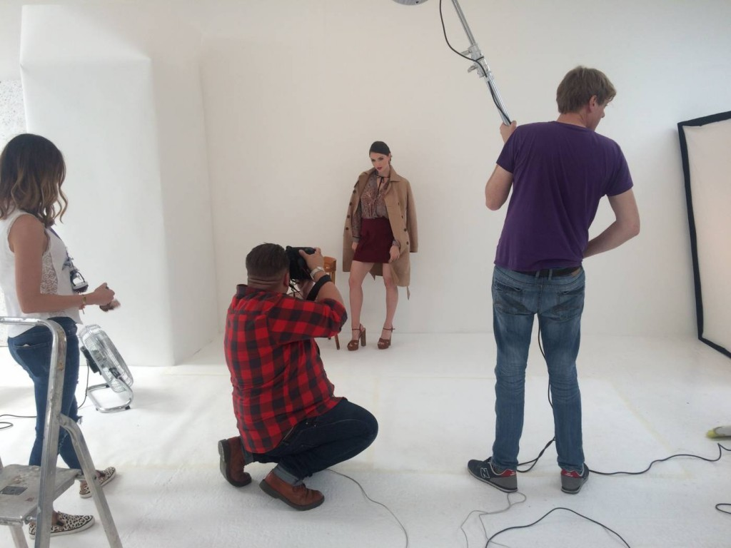 fashion photoshoot