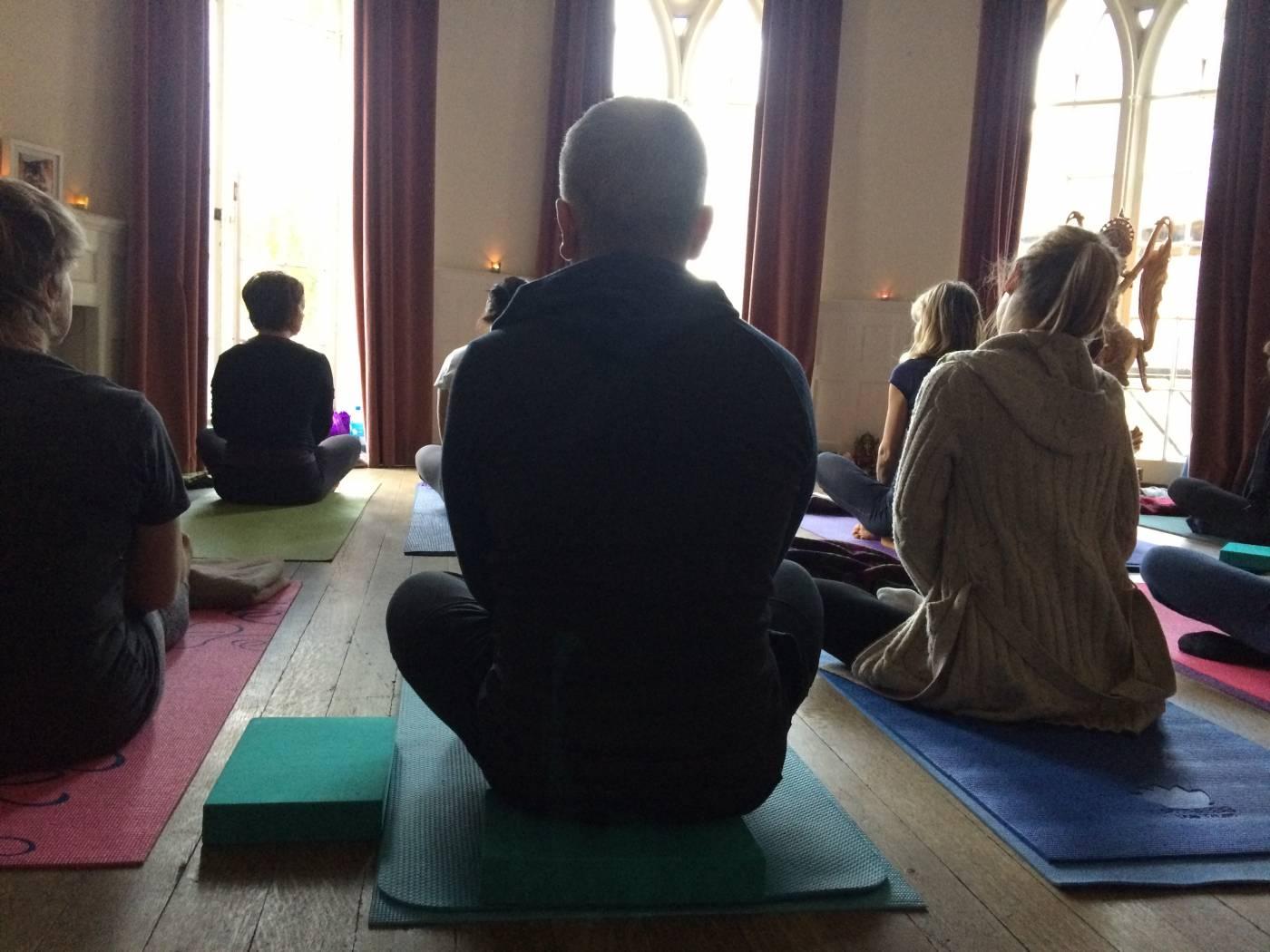 yoga class morning