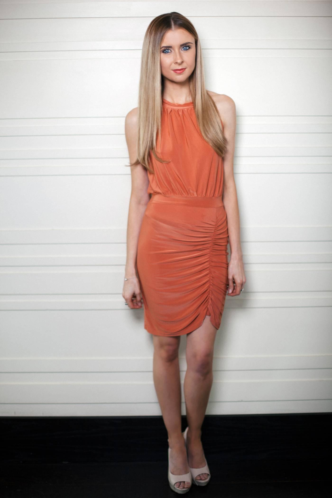 Peaches and Cream Dress