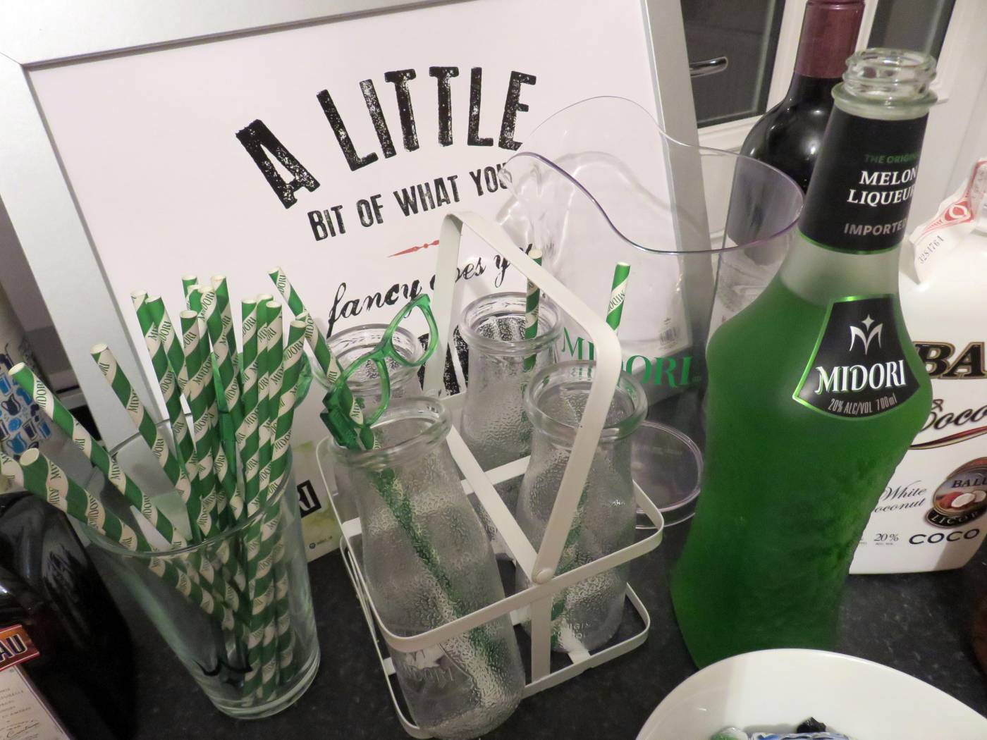 midori cocktails