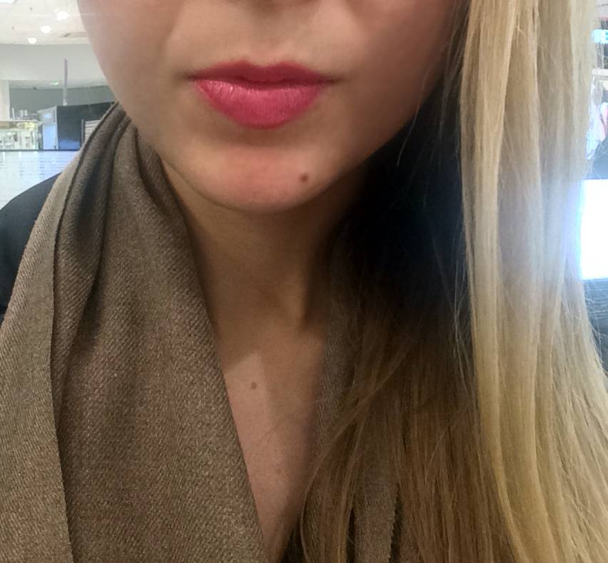 chanel pink lipstick