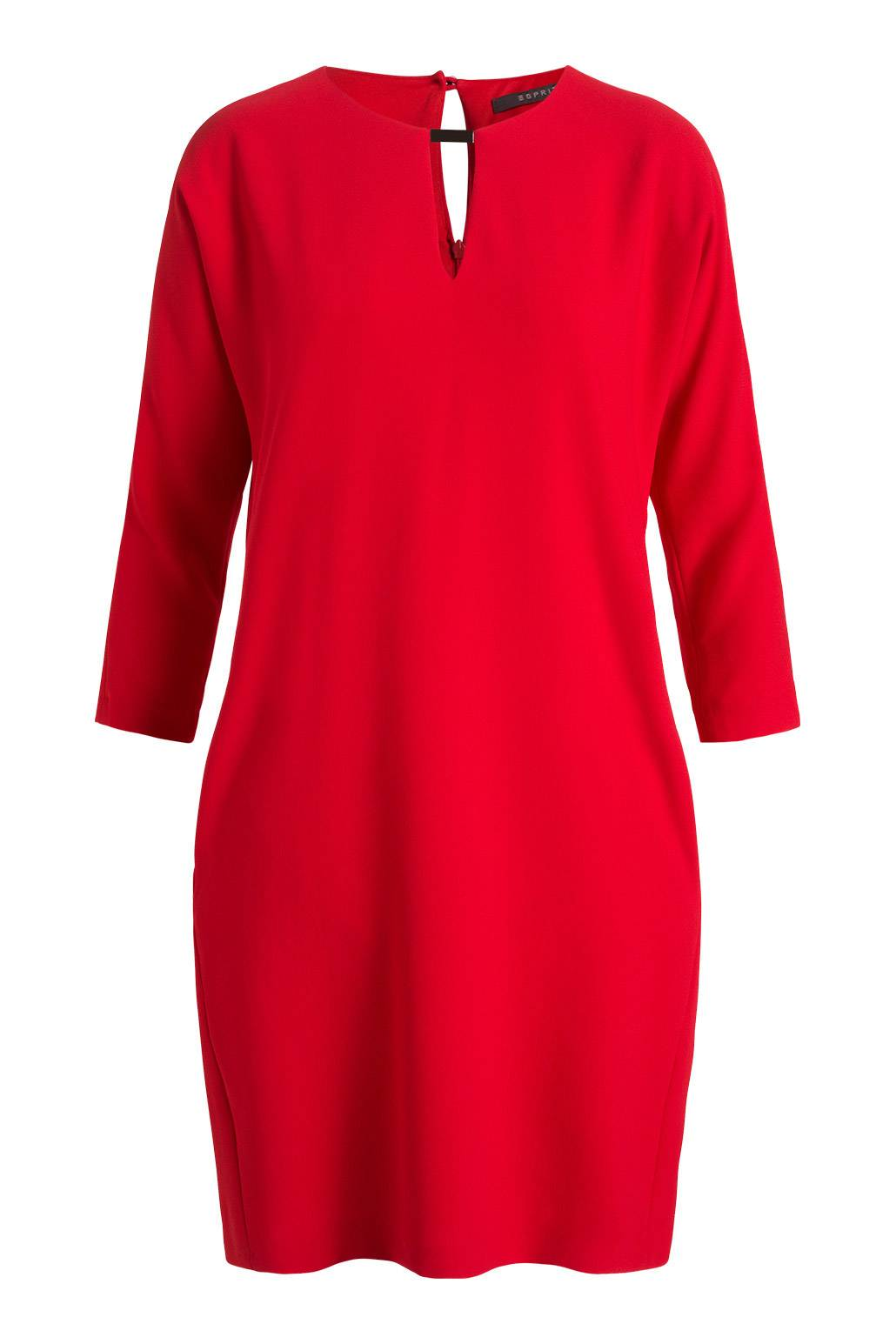 esprit red dress