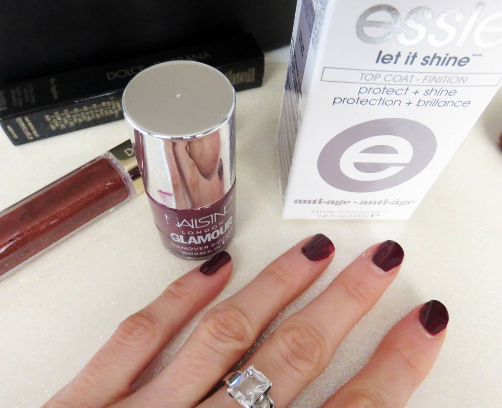 essie top coat
