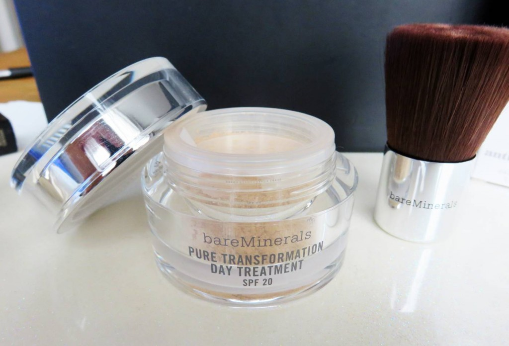 bare minerals pure transformation powder