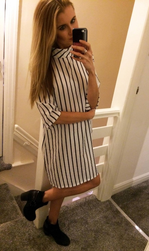 ark stripe dress