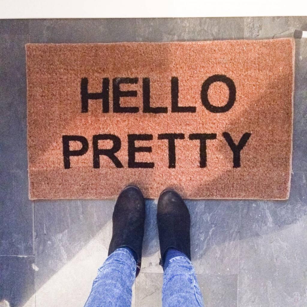 personalised door matt