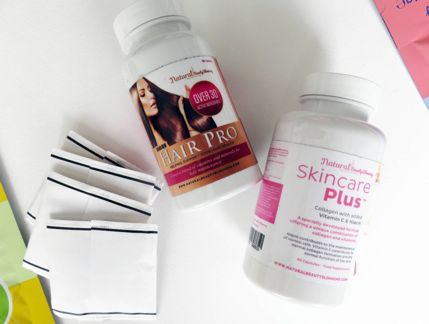 skin and hair tablets