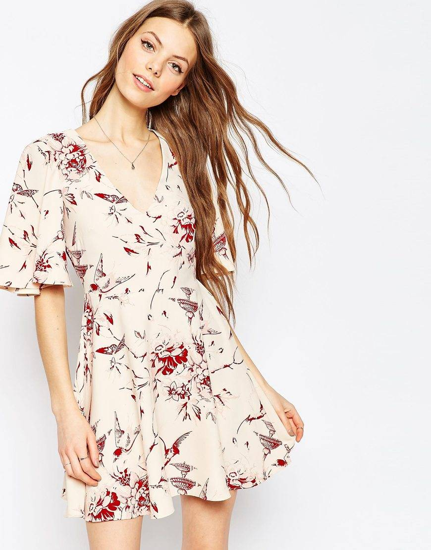 asos casual dress
