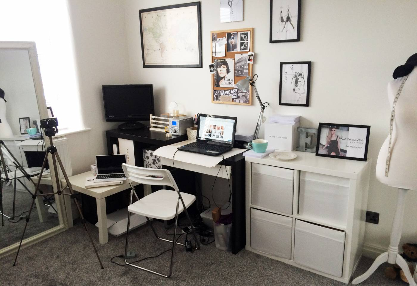 bloggers office