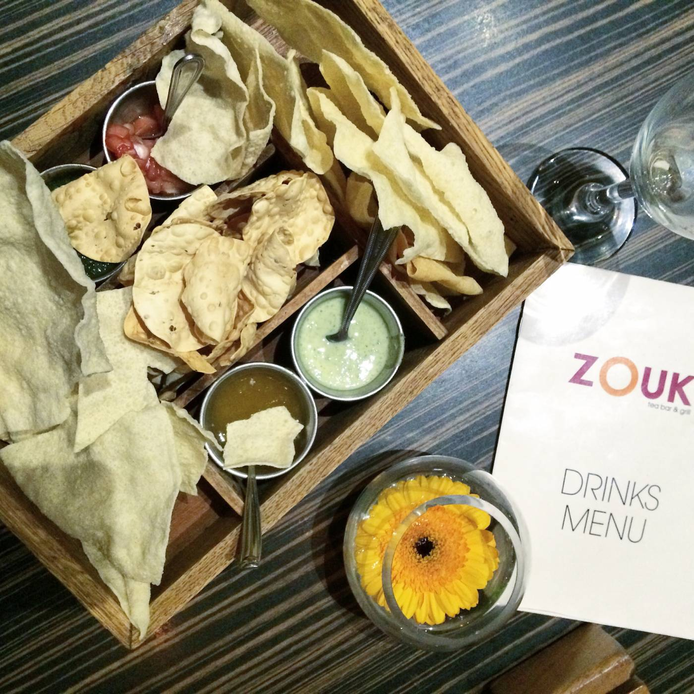 zouk tea bar manchester