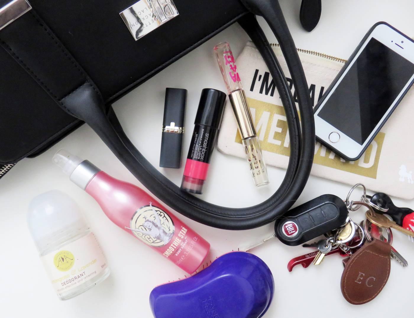 handbag makeup