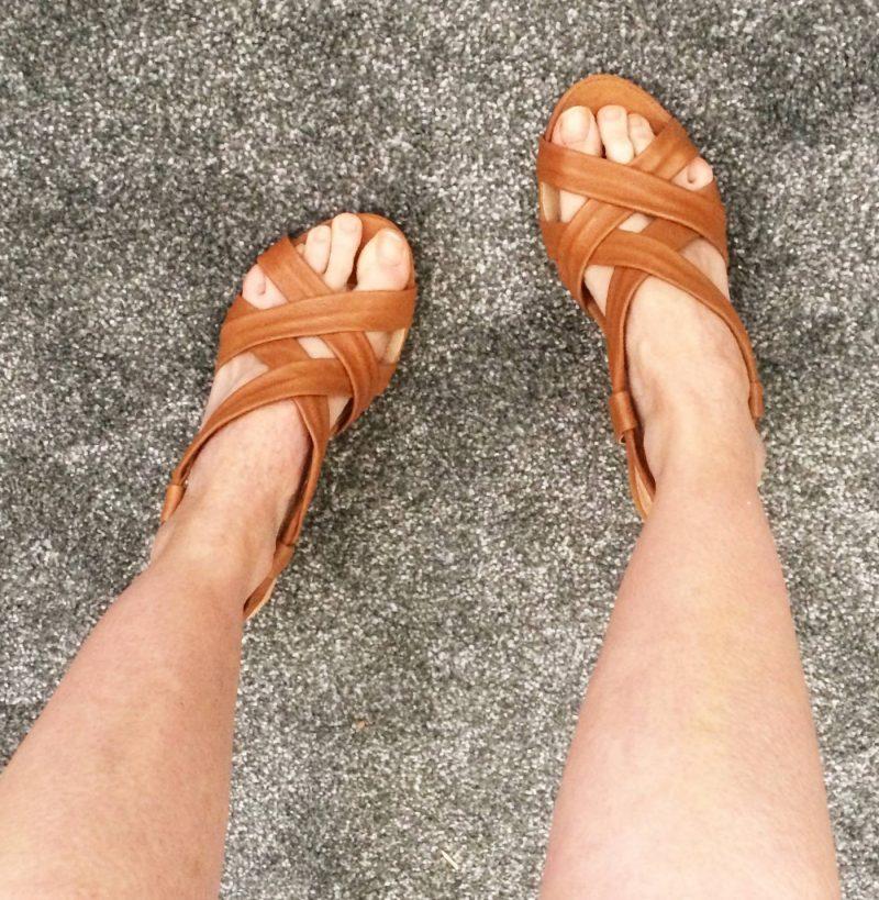 carvela tan wedges