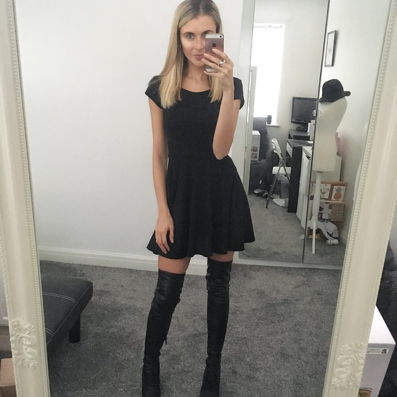 af3f4beb246 I have wanted to get my hands on a pair of thigh high black boots for  soooooo long