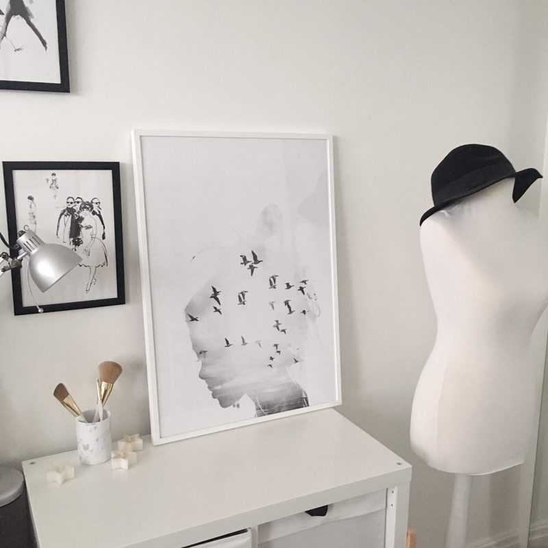 Lifestyle: Desenio Wall Prints and Frames | What Emma Did
